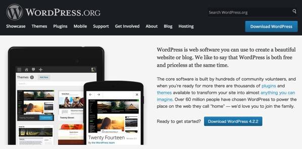 WordPress Blog Tool Publishing Platform and CMS