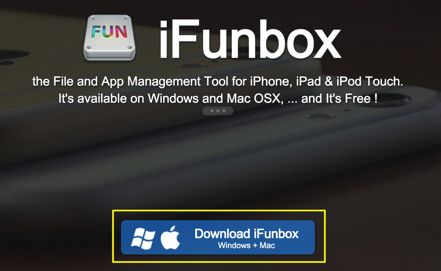 IFunbox the File and App Management Tool for iPhone iPad iPod Touch