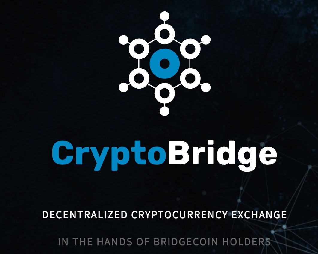 CryptoBridge Decentralized Cryptocurrency Exchange